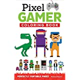 Pixel Gamer Coloring Book: Perfectly Portable Pages (On the Go)