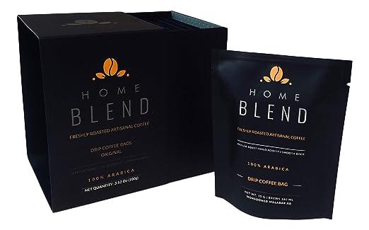 Bolsas de café para goteo, 10 unidades: Amazon.com: Grocery ...