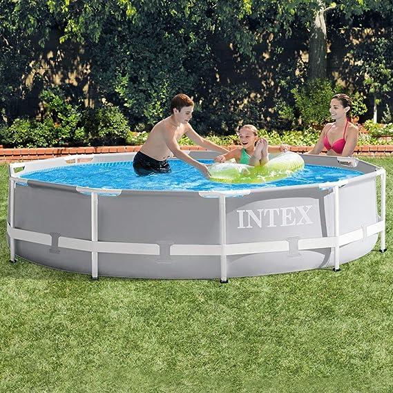 Intex 26702NP Piscina desmontable redonda, con depuradora, 305 x ...