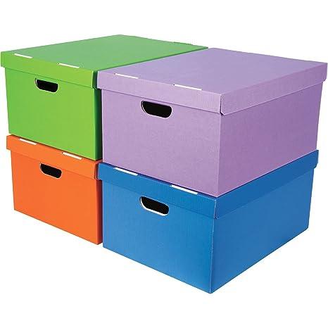 Fellowes Bankers Box - Surtido de cajas para almacenamiento, A4