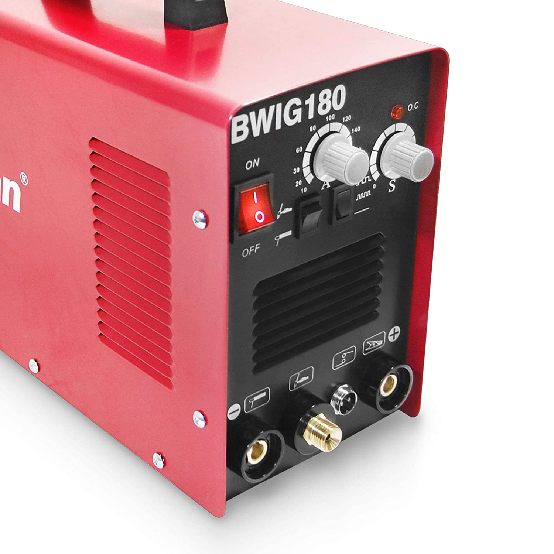 WIG Schweißgerät 180A DC mit HF-Zündung