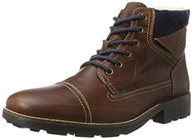 free delivery another chance reasonable price Amazon.com | Rieker Herren-Stiefel Braun 670576-2, Gr. 42 ...