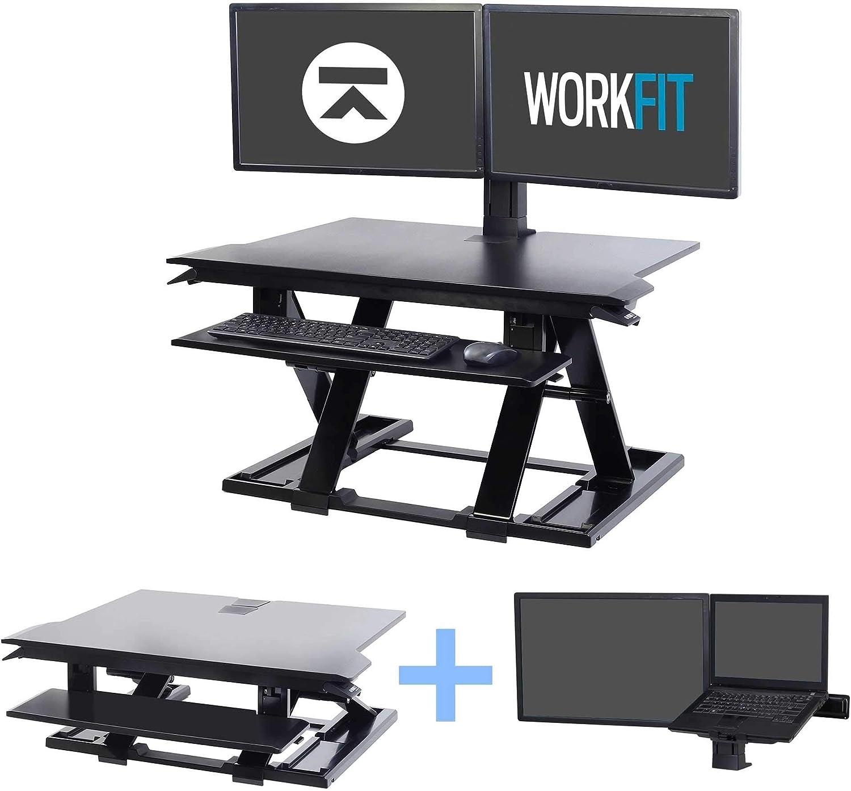 Ergotron Bundle: WorkFit-TX Plus LCD & Laptop Mount