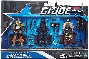 GI Joe 50th Anniversary Rock Rampage Cobra Shock Trooper *LOOSE//COMPLETE*