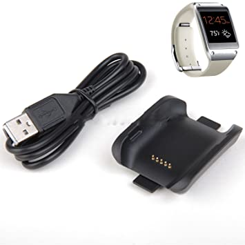 Yongse reloj inteligente muelle del cargador con el cable para Samsung Galaxy engranaje V700: Amazon.es: Electrónica