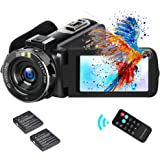 """Video Camera Camcorder ifmeyasi 2020 Upgraded FHD 1080P 30MP Vlogging Camera For YouTube 18X Digital Zoom 3.0"""" LCD 270 Degree"""