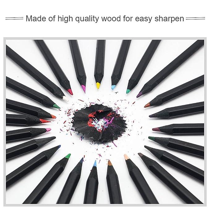 Caja de Lápices de Colores /(24 Unidades/) Lapiceros para Colorear ...