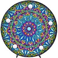 JUNERAIN DIY Mandala Diamante Pintura luz Bordado Completo
