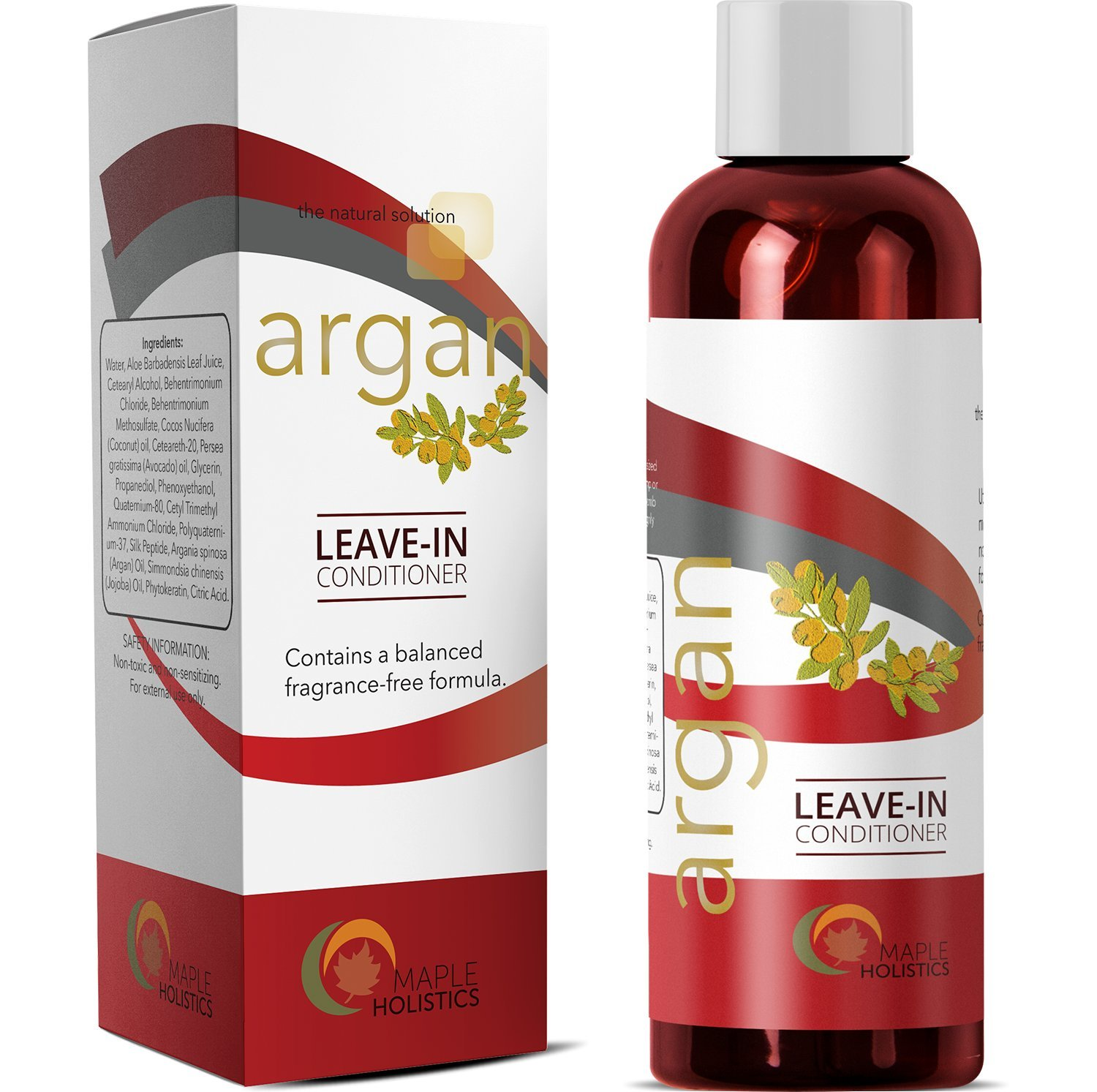 Amazon Moroccan Argan Oil Leave In Conditioner For Dry Hair