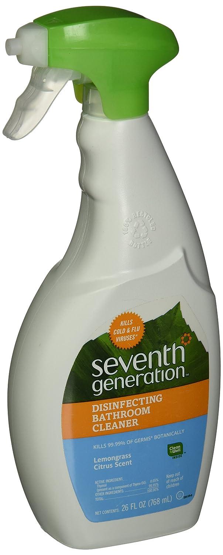 Seventh Generation Disinfectingスプレークリーナー、26オンストリガースプレーボトル、8 /カートン B0061VEBW0
