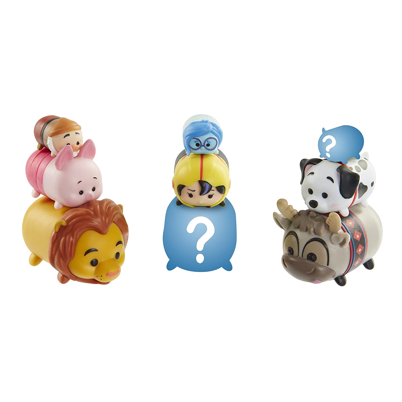 Disney Tsum Tsum 9 PacK Figures Series 4 Style #2 Jakks 09188