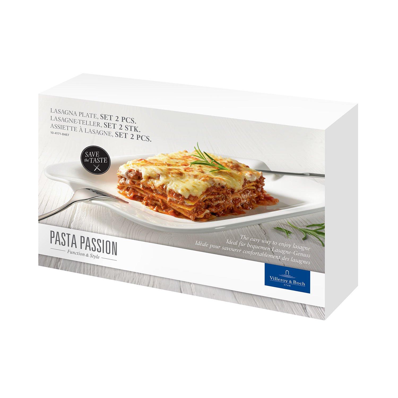 V/&B Pasta Passion Lasagneteller L 2  er Set 32 x 22 cm Villeroy/&Boch