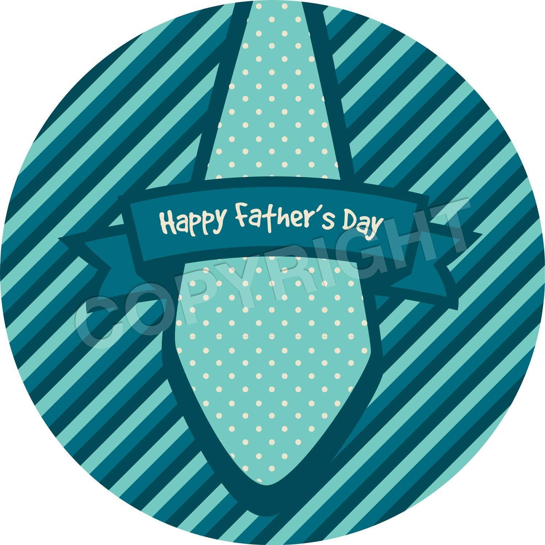 Teachers Children 6 Stickers @ 9.5cm Parents Graphic Flavour Striped Happy Fathers Day Reward Sticker Labels