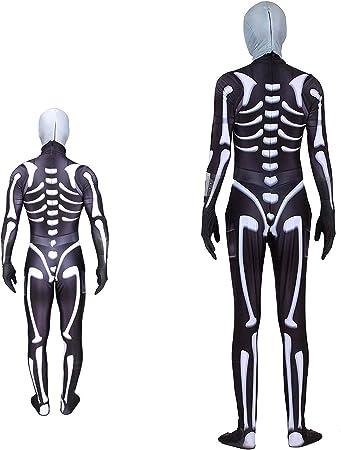 Disfraz de calavera HLL, disfraz de Halloween, disfraz de cosplay ...