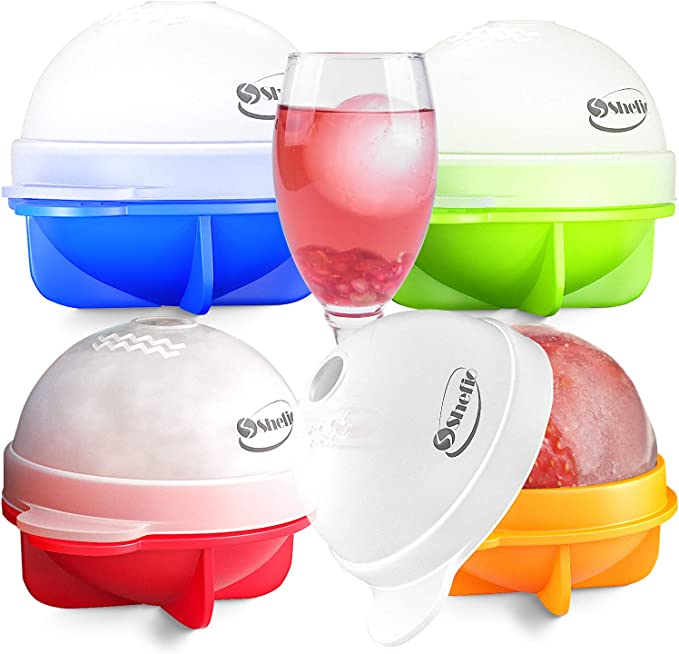 1Pc ICE Balls Maker Round Sphere Tray Cube Whiskey Cocktails Silicone Mould U9U6