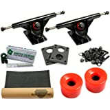 Amok Downhill 180 Black Basic Set Longboard Essieux