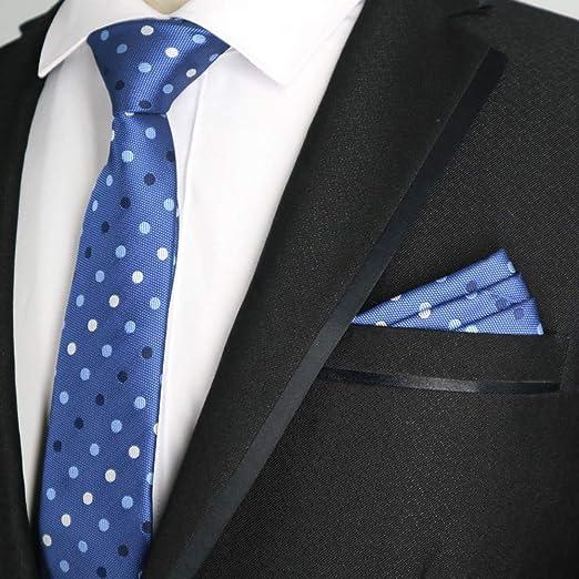QEHWS Corbata Corbatas De Hombre Corbata De Pañuelo A Juego ...