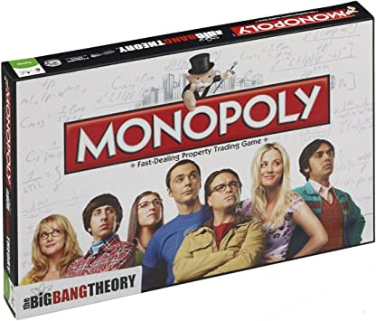 Winning Moves- Monopoly Edición The Big Bang Theory, Juego de ...