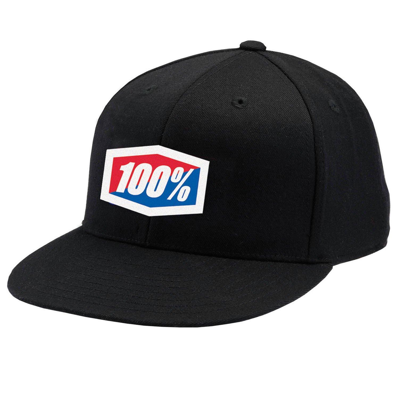 100% Essential Gorra de béisbol negro - colour negro