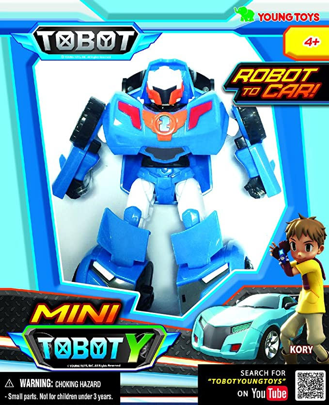 Amazoncom Tobot Youngtoys Mini Y Car Transforming Robot Car To