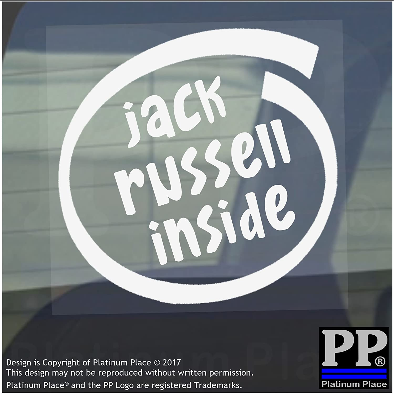 Jack Russell - Pegatina para ventana, coche, furgoneta ...