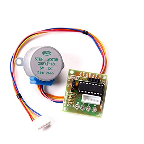 5 V DC Schrittmotor Arduino 28BYJ-48 28BYJ48 5-Kabel 4 Phasen mit ...