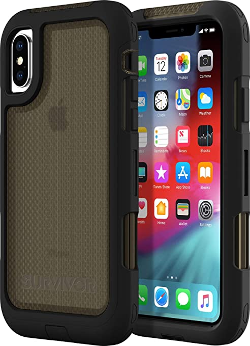 finest selection fae2e f7582 Griffin Survivor Extreme for iPhone Xs Max, Black