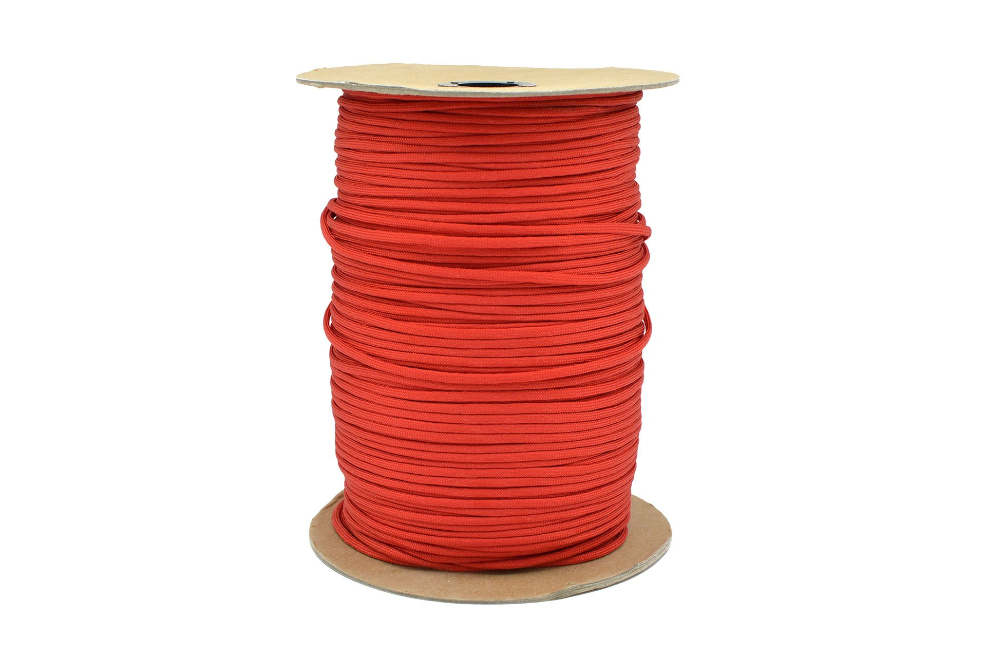 Paracord Rope 550 Type III Paracord - Parachute Cord - 550lb Tensile Strength - 100% Nylon - Made In The USA (Red, 50 Feet) by Paracord Rope (Image #2)