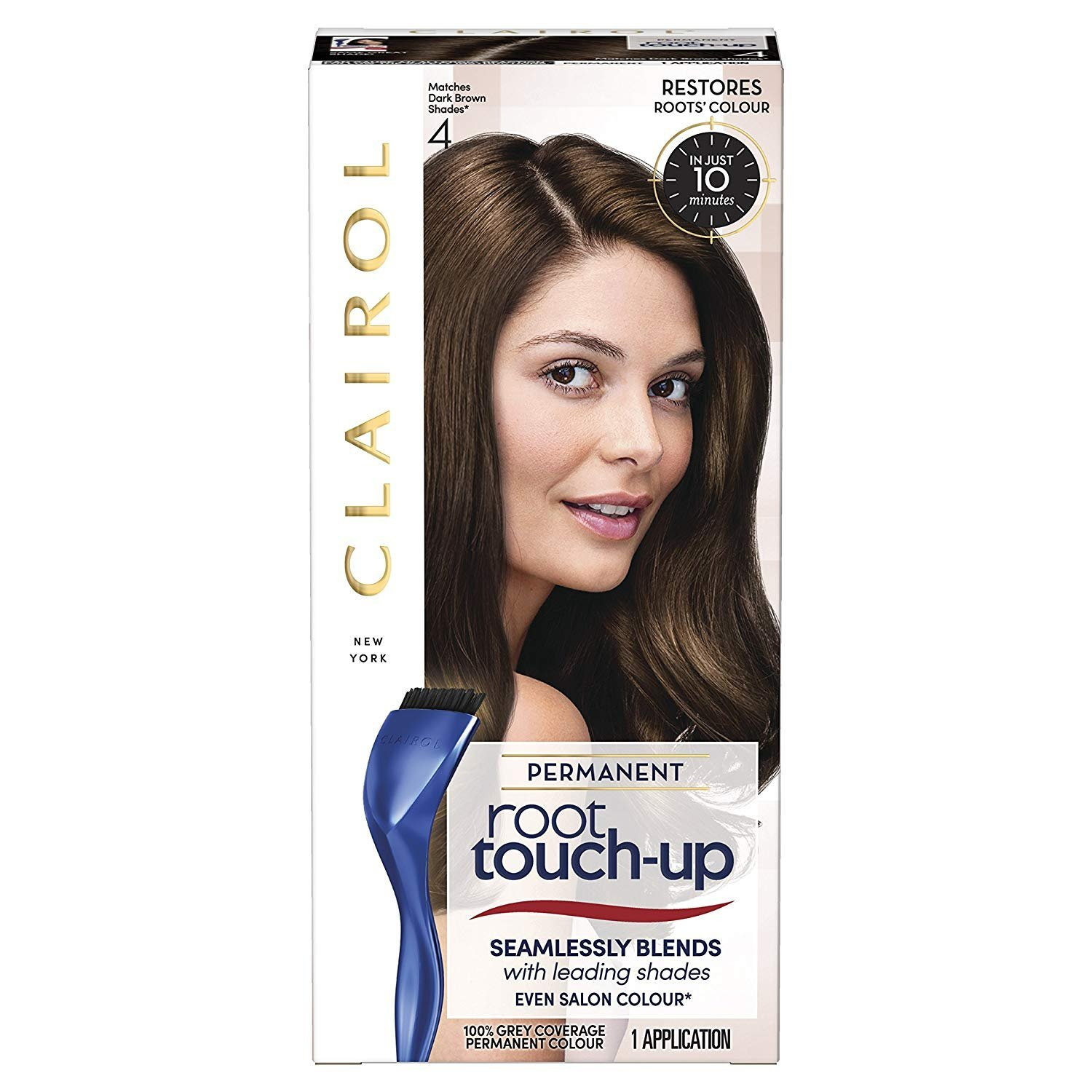 Clairol Nice'n Easy Root Touch-Up Dark Brown 4 100676016
