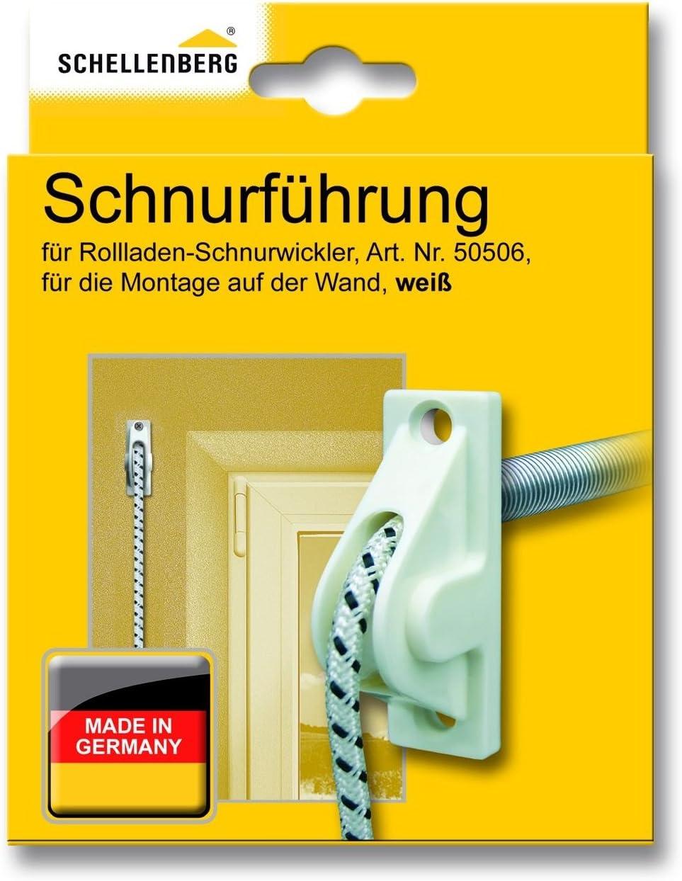 verringert den Verschlei/ß von Schn/üren Rolladenschnur Schellenberg 11034 Schnurf/ührung f/ür Rollladen-Schn/üre