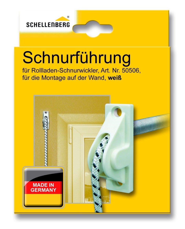 Schellenberg 11034 Guide de corde Blanc