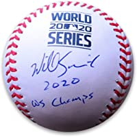 """$217 » Will Smith Signed Autographed Baseball 2020 World Series""""WS Champs"""" Dodgers MLB"""