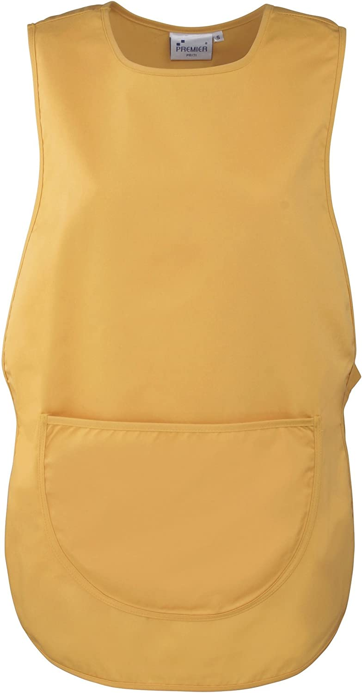 Workwear Premier Ladies//Womens Pocket Tabard S Burgundy