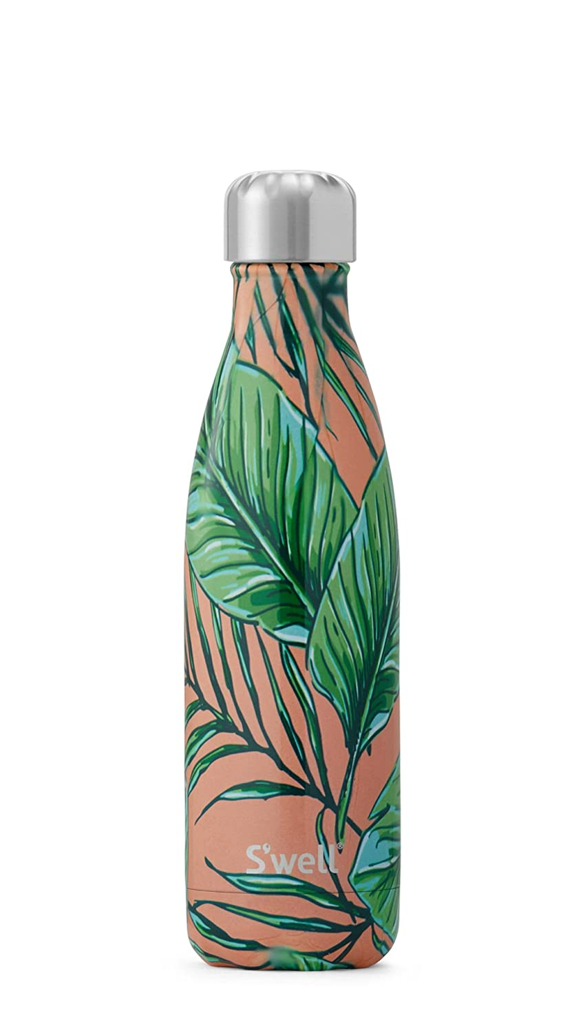 Palm Beach 17 oz S'well Vacuum Insulated Stainless Steel Water Bottle, Double Wall, 17 oz, Sundance