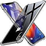 iPhone XS ケース Beikell クリア TPUバンパー 保護カバー iPhone XS 5.8インチ用 耐衝撃 傷つけ防止 指紋防止(クリスタル ・クリア)