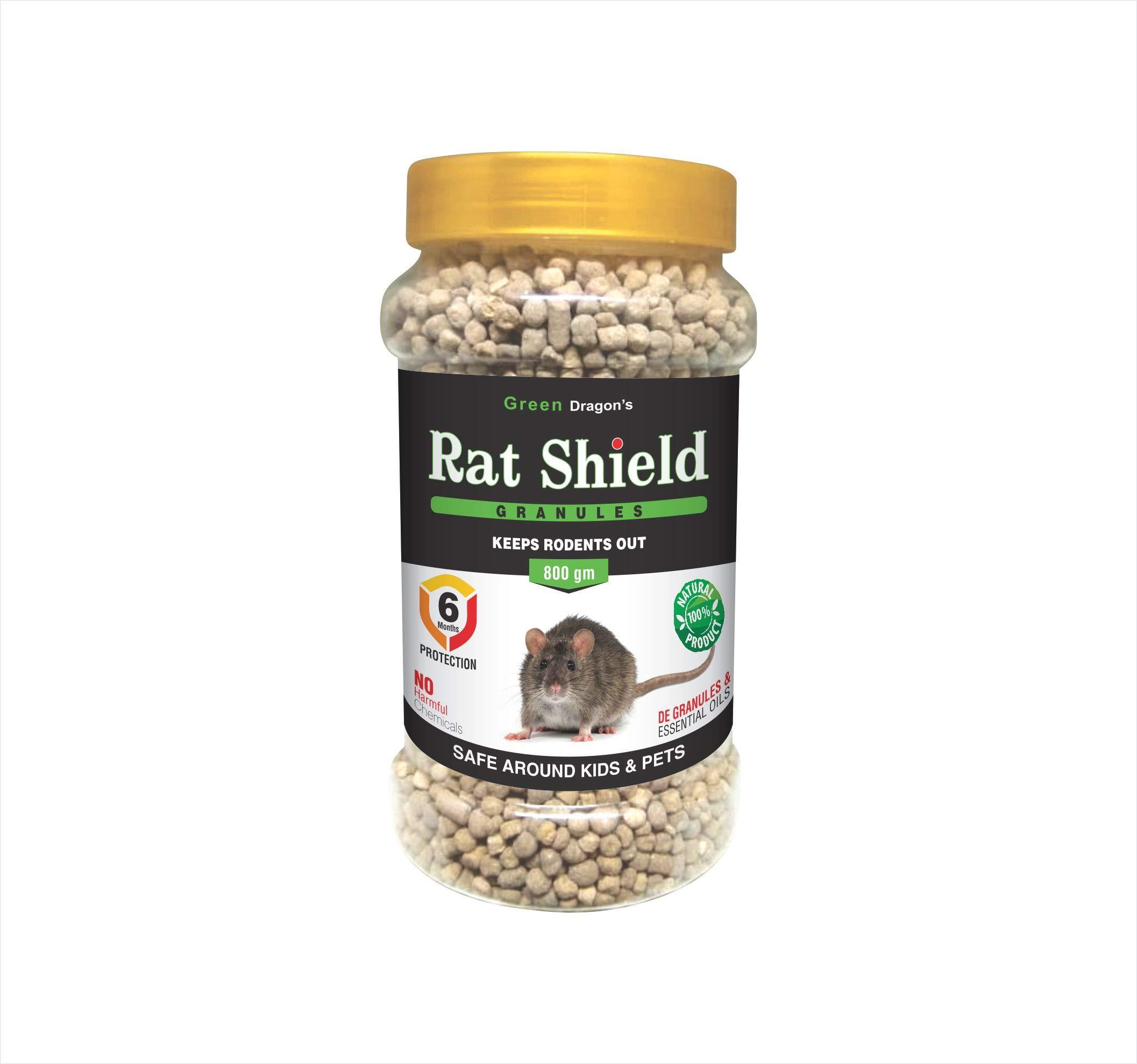 Green Dragon's Rat Shield Granules - 800 gm
