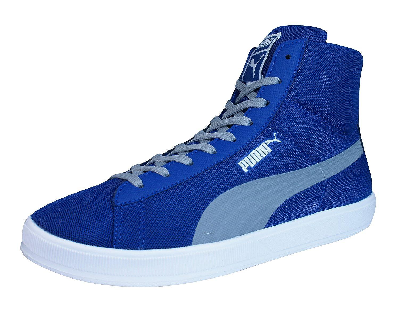 sneakers Puma Bleues - Archive_lite_mid_355890: Amazon.fr: Chaussures et  Sacs