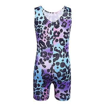 Leopard Leotard For Kids