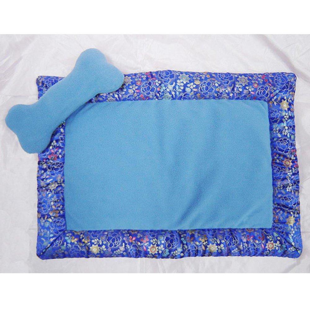 B Kaxima Pet Bed for Satin Rectangular Pet Litter Dog mat, 63.5cm45.5cm