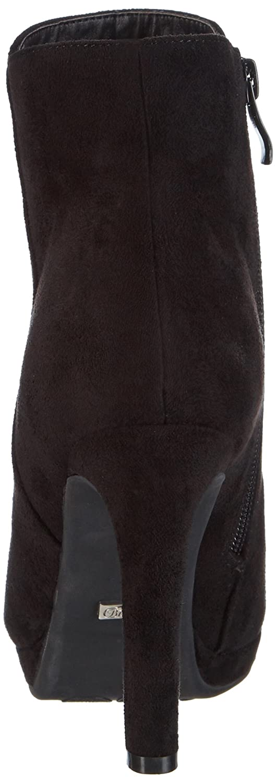 Buffalo Damen Y436-51B P1804A Damen Buffalo Halbschaft Stiefel Schwarz (schwarz 01) dcc3fa