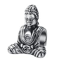 CHANGEABLE Charms et perles femme argent 925 Cristal (le buddha)