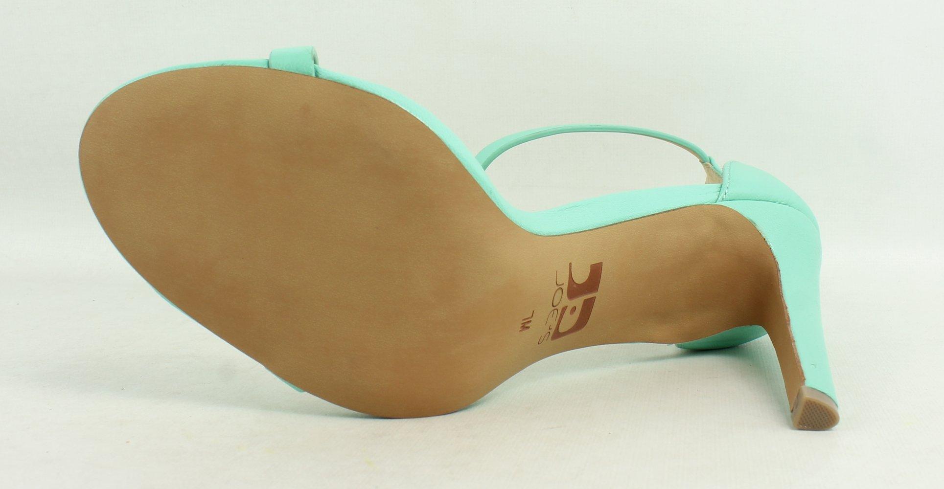 Joe's Jeans Women's Import Sea Foam Green Leather Pump 7 M