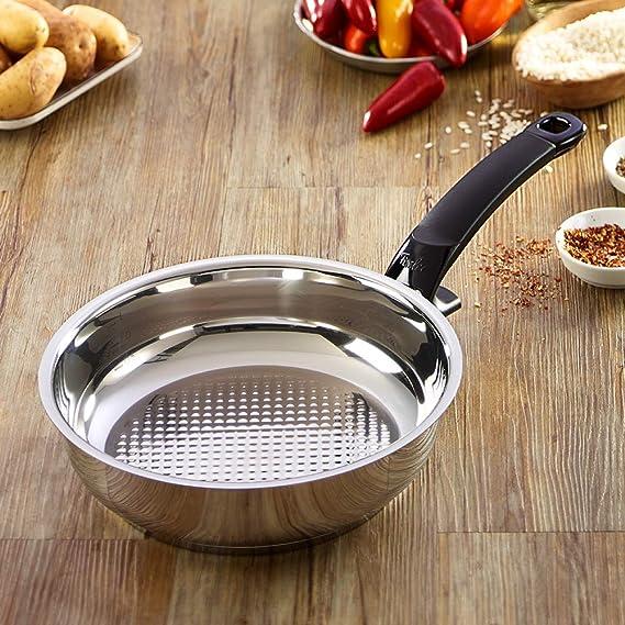 Fissler 12110128100 Crispy steelux Comfort - Sartén (28 cm)