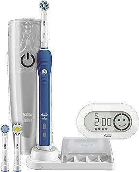 Braun Oral B Pro 5000 Wiederaufladbare Elektrische Zahnburste Amazon De Drogerie Korperpflege