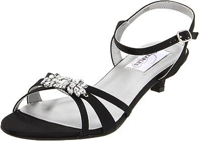 eeaaef5e73 Amazon.com | Dyeables Women's Penelope Ankle-Strap Sandal | Heeled ...