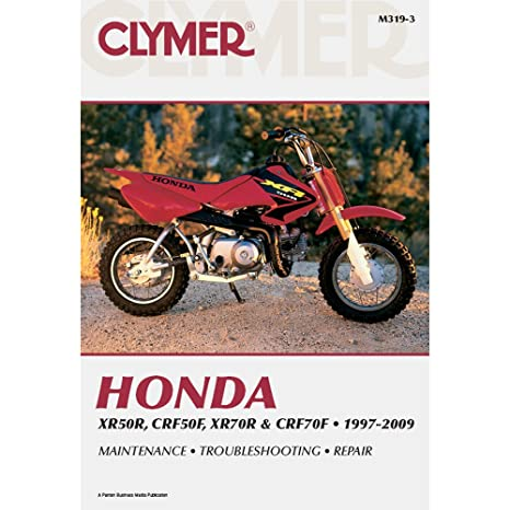 amazon com 04 18 honda crf50f clymer service manual misc automotive rh amazon com honda xr 70 r manual honda xr70 manual clutch
