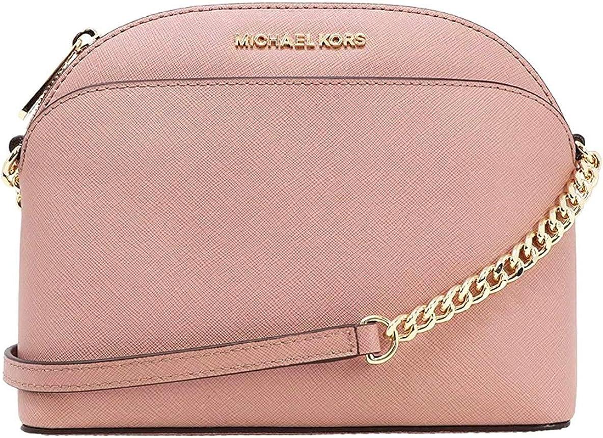 pink leather bag strap