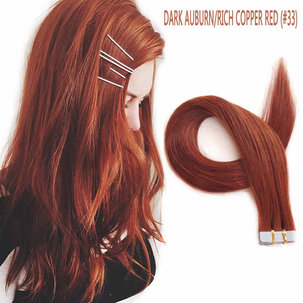 Amazon Showjarlly 18 Remy Tape In Human Hair Extensions 40g