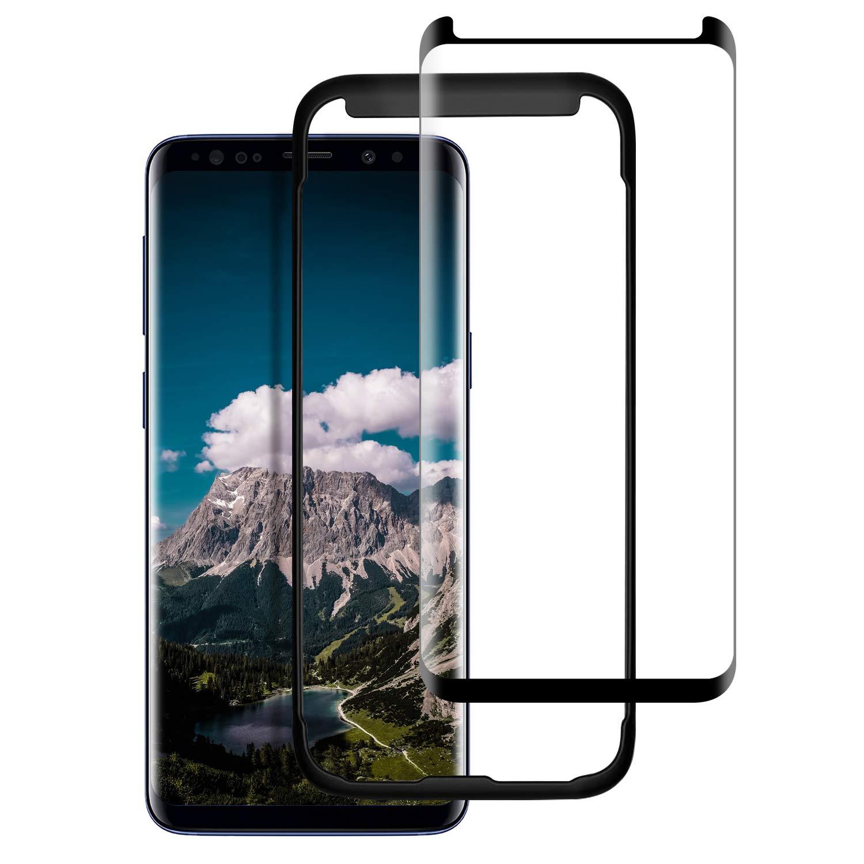 Vkaiy Samsung Galaxy S9 Pellicola Protettiva in Vetro Temperato - [Durezza 9H] [Alta Trasparente] [Nessuna Bolla] [Anti-Impronte] [ Antigraffi], Facile da Installare, [2 Pezzi]