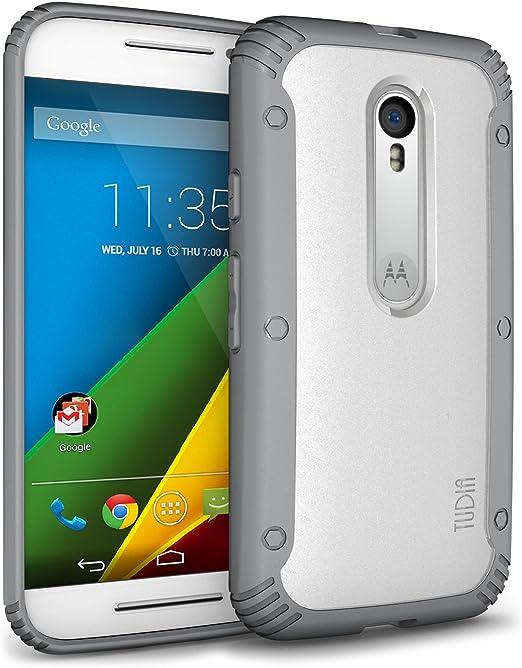 TUDIA Motorola Moto G 3 (2015) Estuche, Resistente a los Arañazos ...